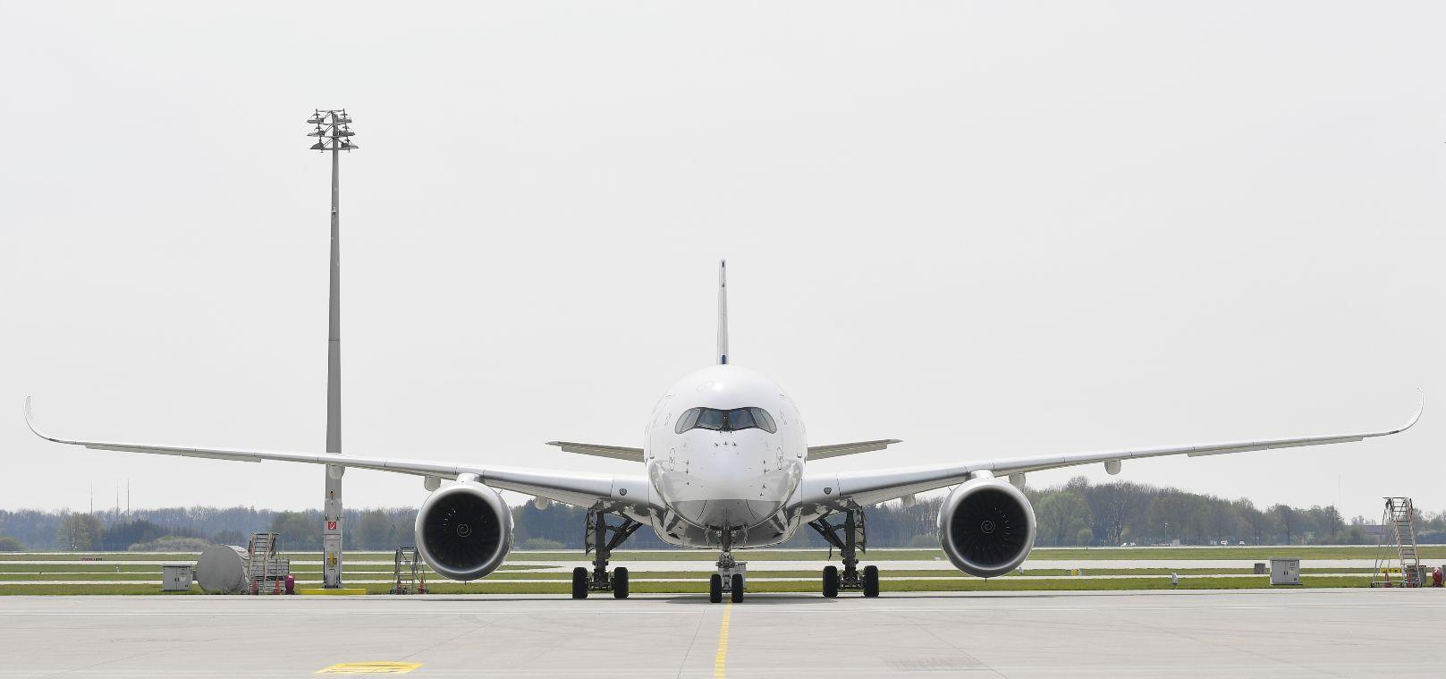 Lufthansa met l'A350-900 sur Munich-Hong Kong