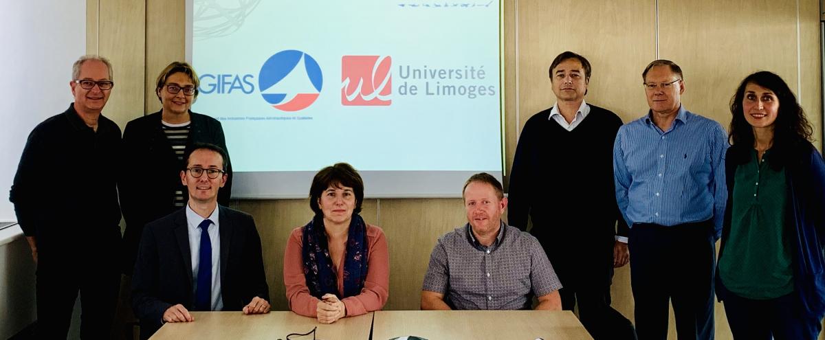 Vers un partenariat entre le Gifas et l'Université de Limoges