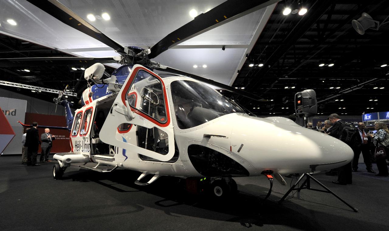 Expansion de la présence d'AgustaWestland au Brésil
