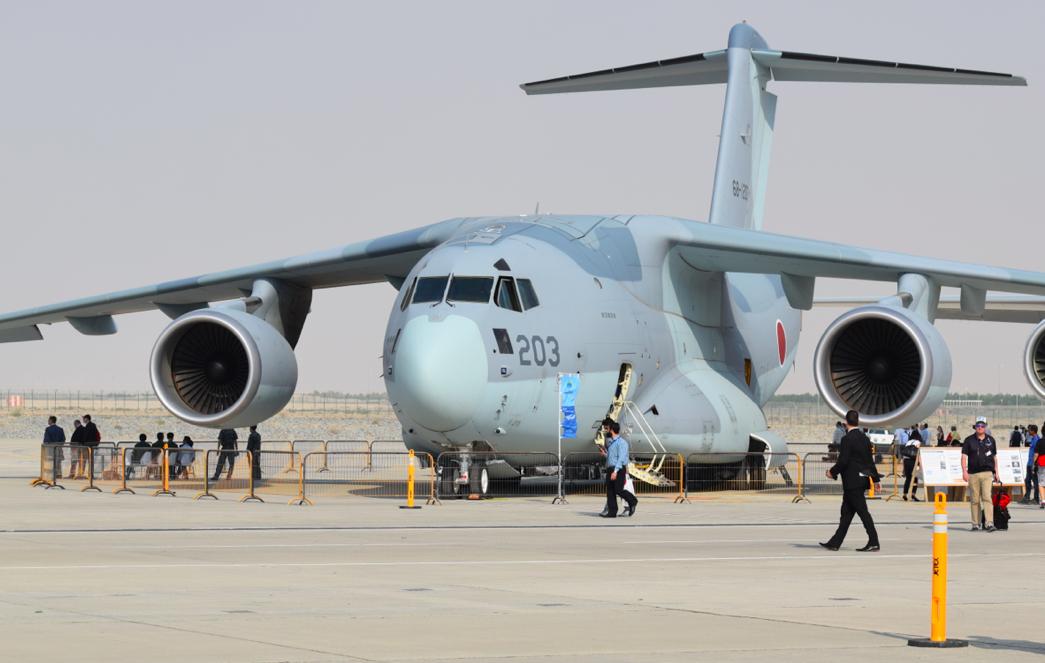 Dubai Airshow 2017 : Le Japon expose le C2