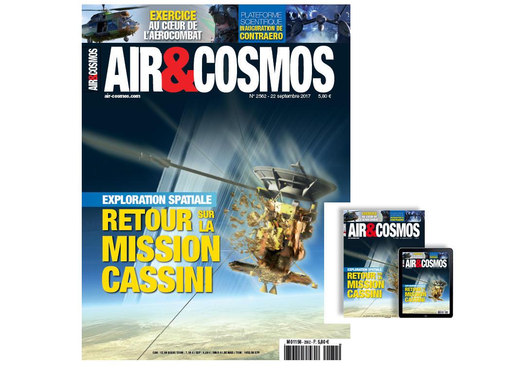 Mission Cassini, exercice Baccarat, Qatar, Typhoon, easyJet, MBDA, cette semaine dans Air et Cosmos.