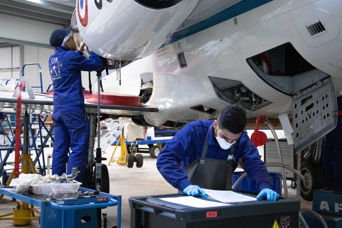 Métiers de l'aérien : 800 contrats en alternance