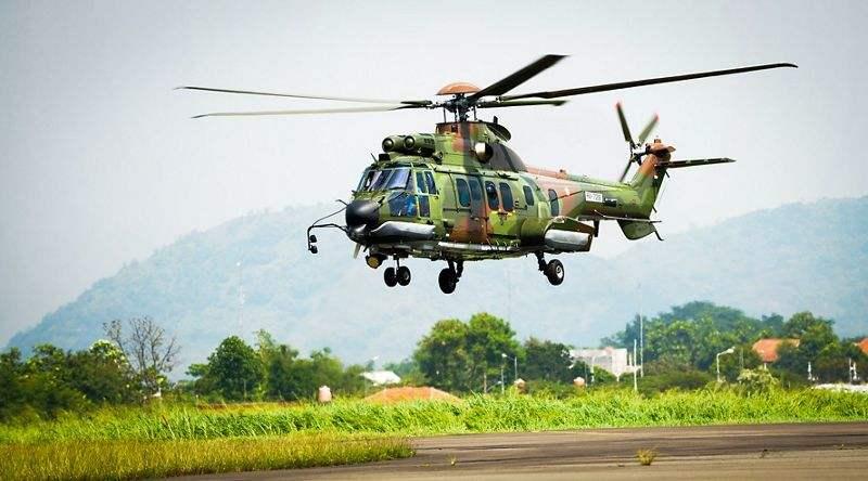 L'armée de l'air indonésienne commande 8 hélicoptères Airbus H225M