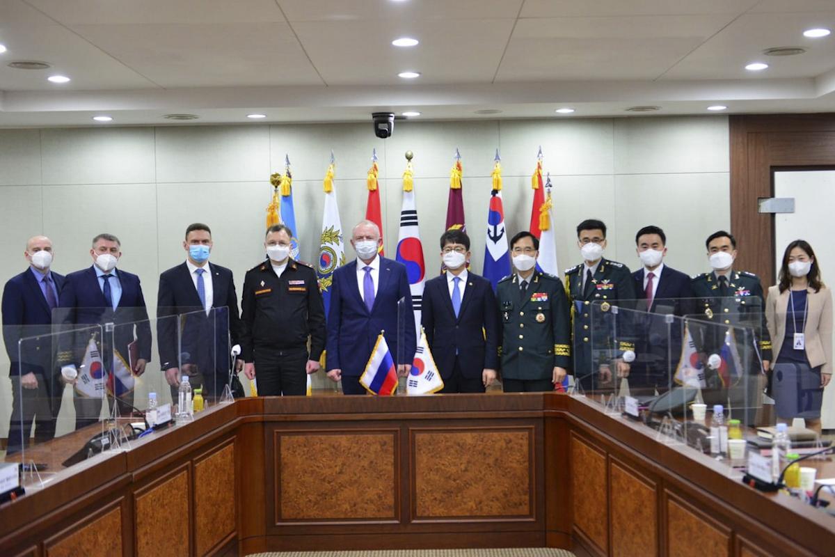 La Russie et la Corée du Sud se rapprochent