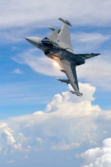 10 000 heures de vol pour les Gripen Thaïlandais