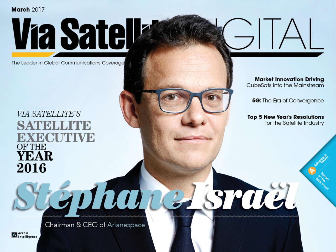 [SATELLITE 2017] Le PDG d'Arianespace élu «Satellite Executive of the Year»
