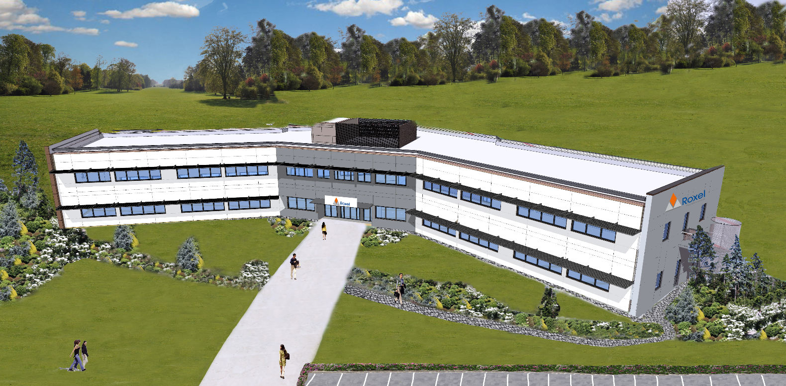 Roxel inaugure son nouveau bâtiment