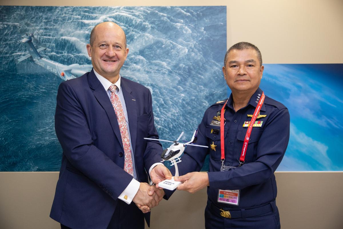 Singapore Airshow 2020 : La Thaïlande prend six Airbus H135