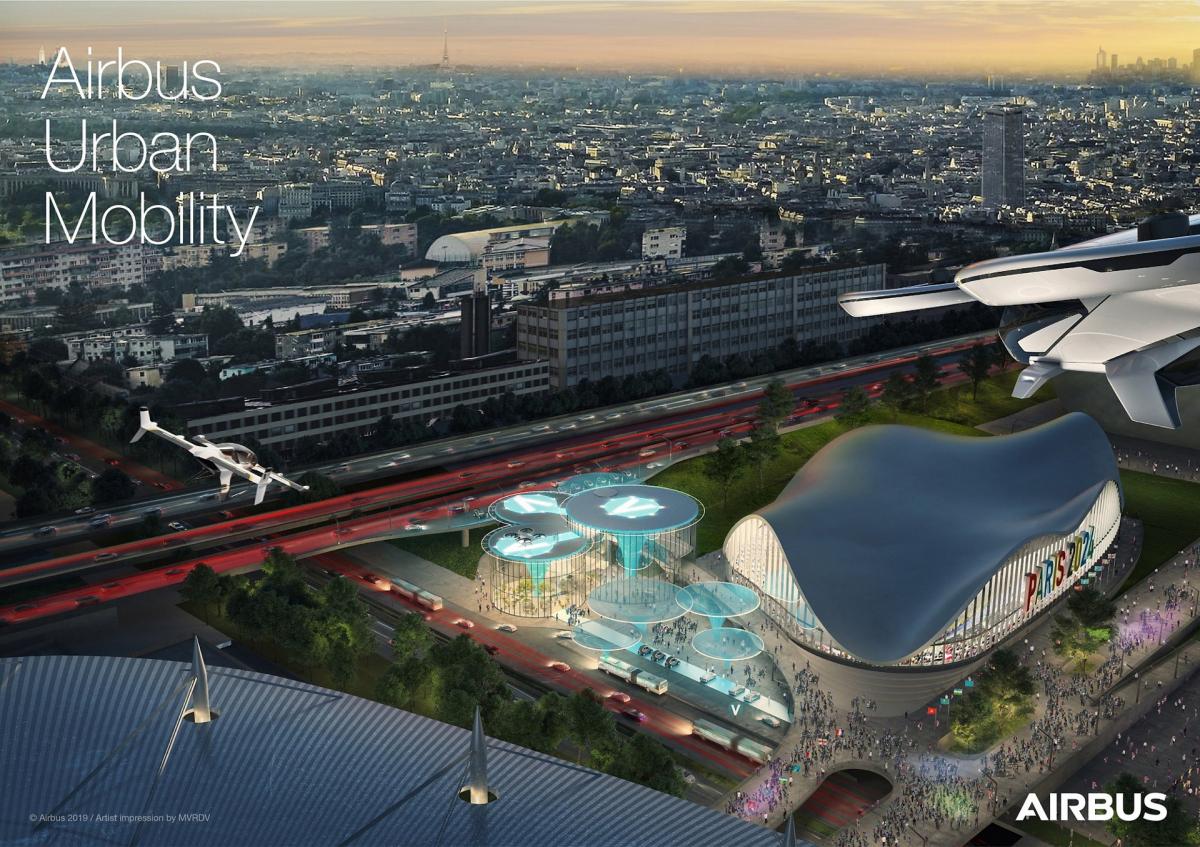 Bourget 2019: Airbus, ADP et la RATP annoncent un partenariat
