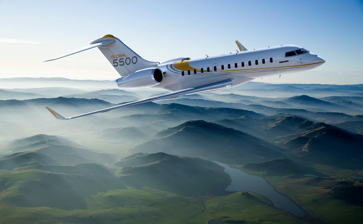 Première commande de Bombardier Global 5500