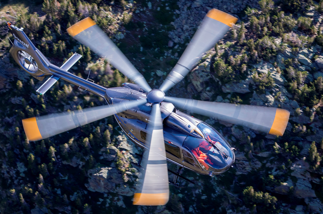 Airbus Helicopters unveils new H145