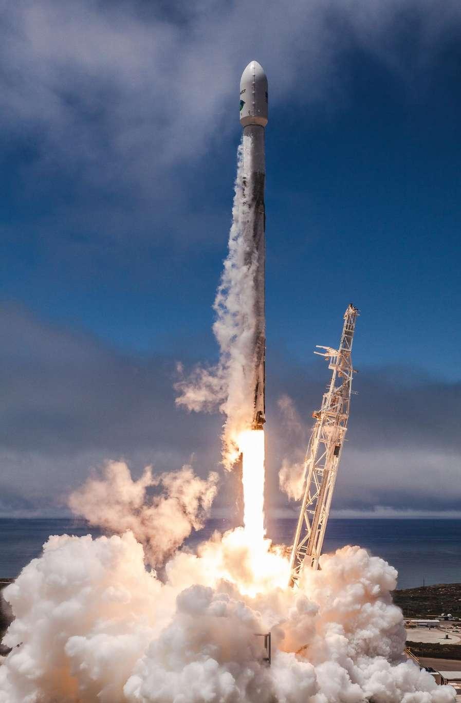 Dix sur dix pour SpaceX