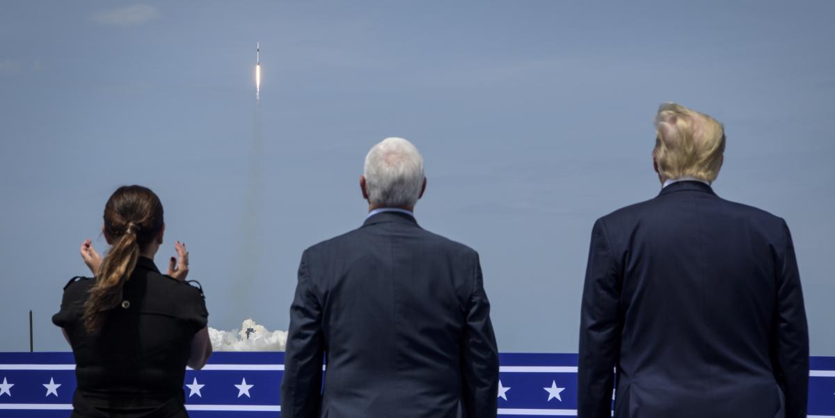 L'espace dans la course à la Maison Blanche