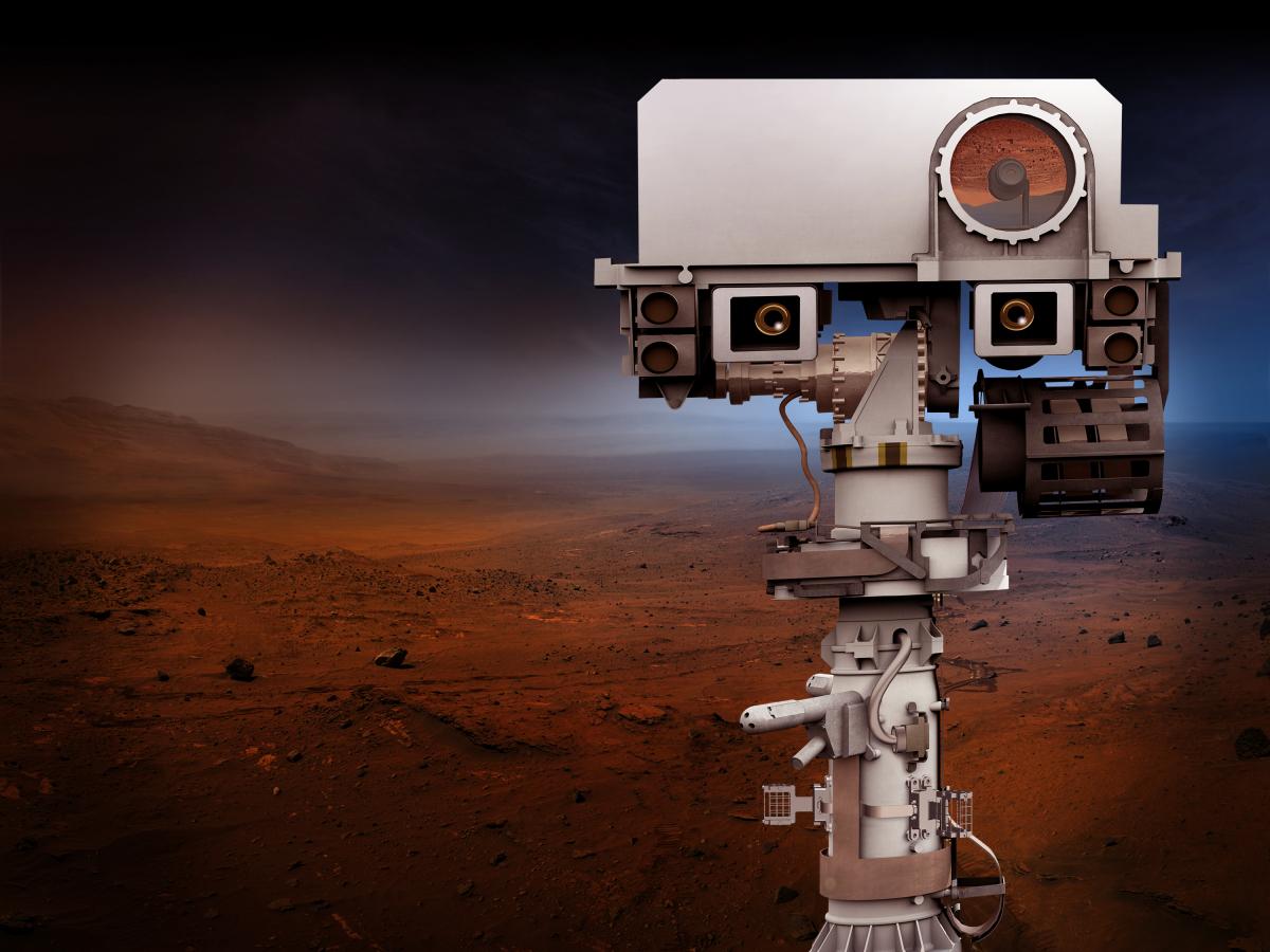A la découverte de l'instrument SuperCam de la mission Mars 2020