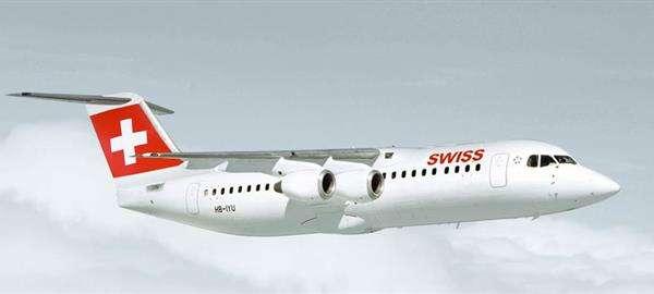 Swiss retire du service ses Avro RJ 100