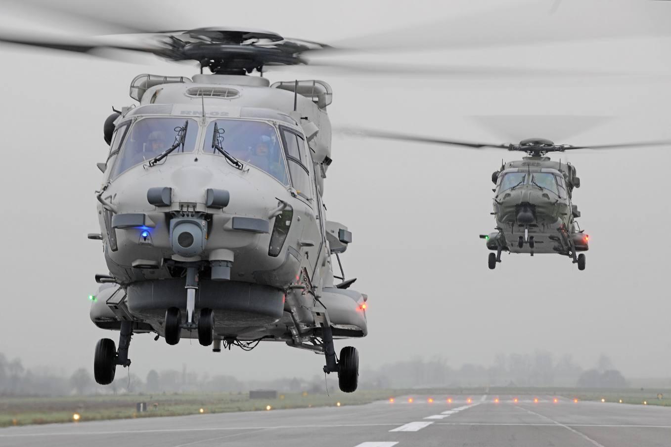 Qatar picks RTM322 for NH90s