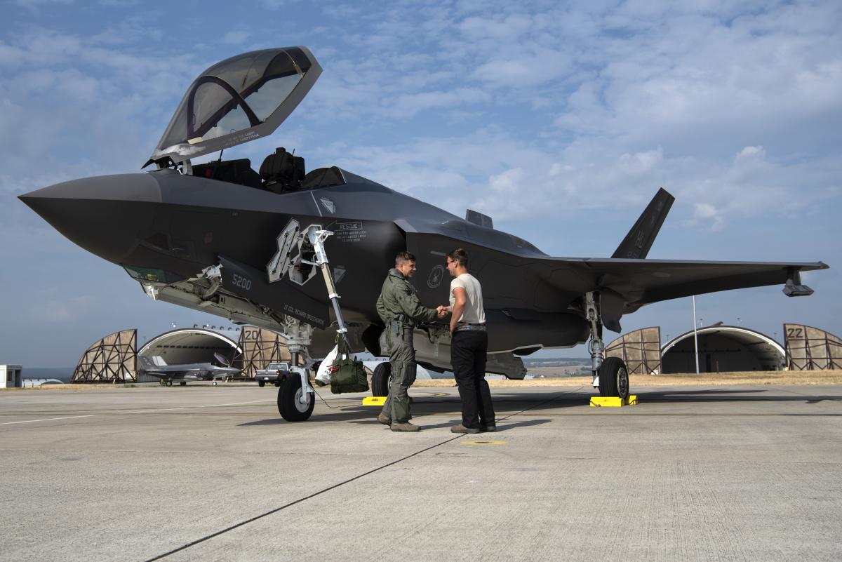 Des F-35 en Lituanie