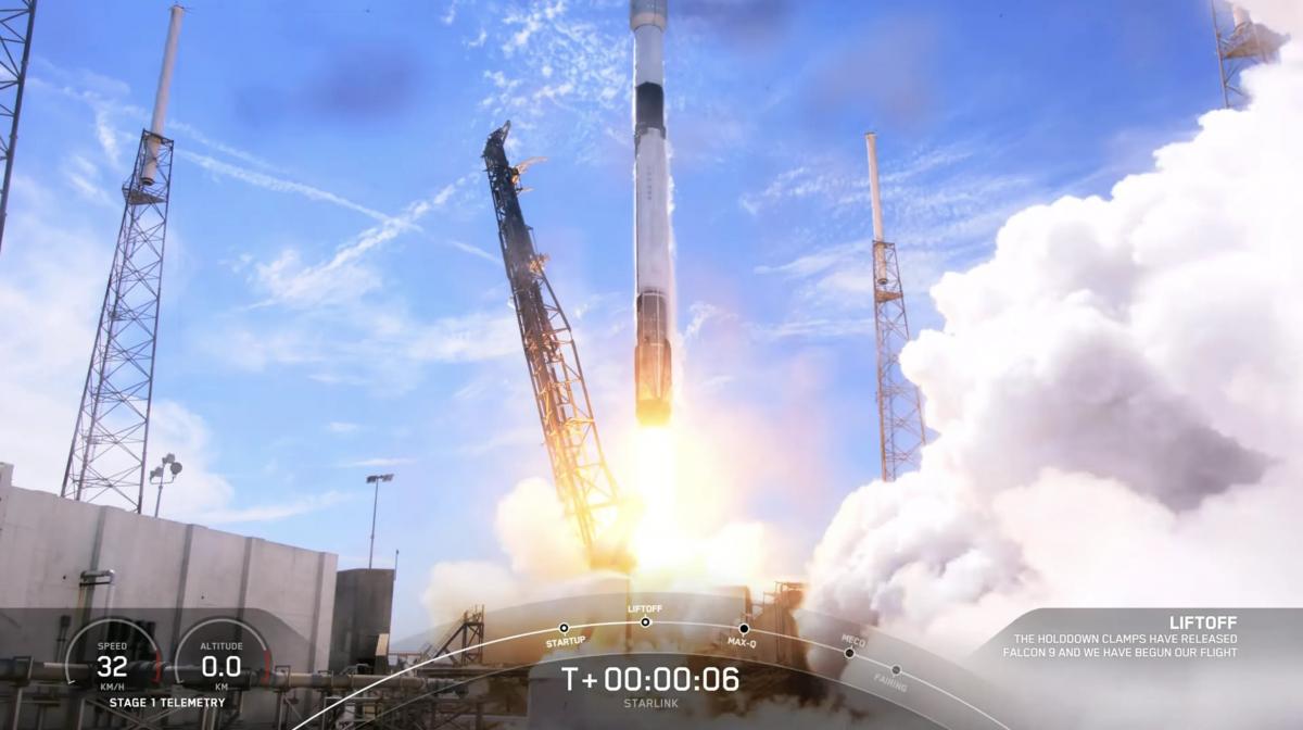 Centième succès d'affilée pour le lanceur Falcon 9 de SpaceX