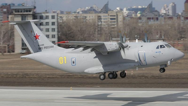 Russie : reprise des essais de l'avion de transport tactique IL-112V
