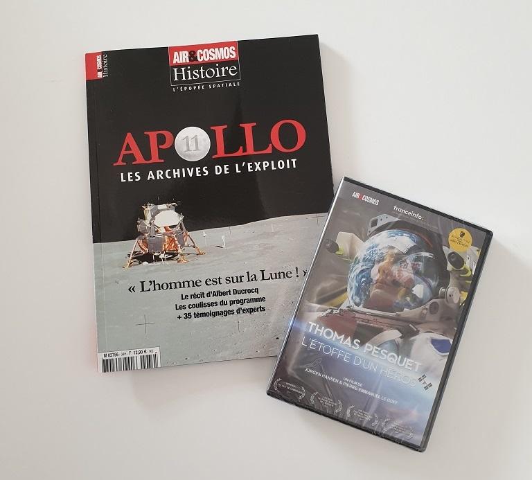 Package hors-série APOLLO 11 et DVD Thomas Pesquet