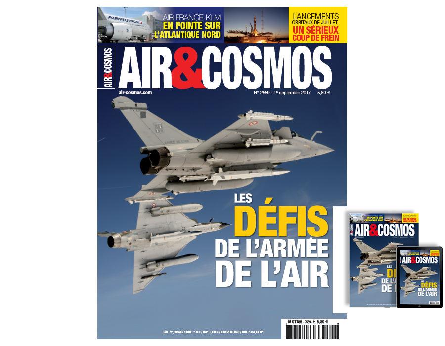 Armée de l'Air, Airberlin, Air France-KLM, lanceur Vega, cette semaine dans Air et Cosmos
