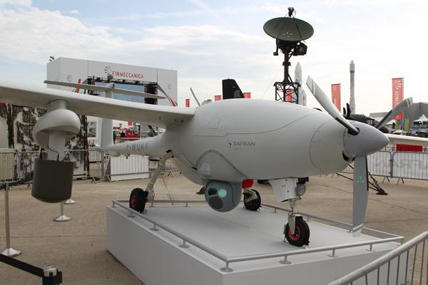 BOURGET 2013 : Sagem veut remplacer les Sperwer français avec son drone Patroller