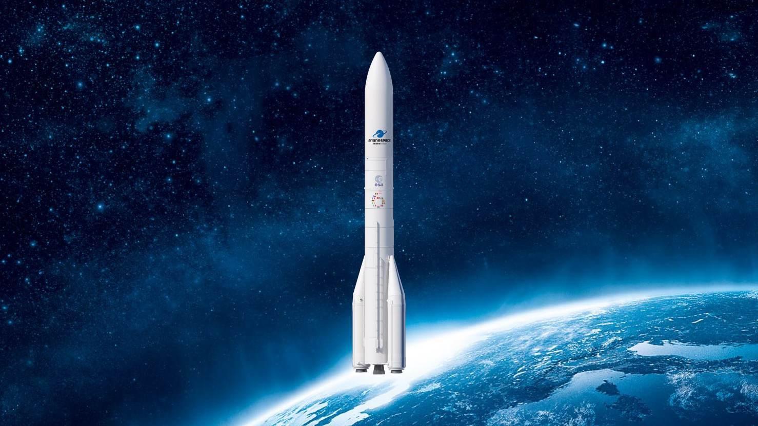 Quatre satellites Galileo pour Ariane 6
