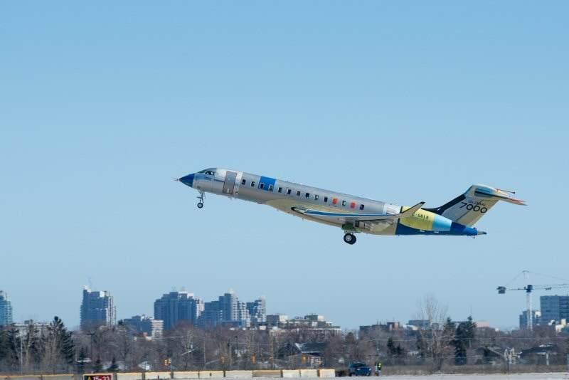 Le second Bombardier Global 7000 a pris son envol