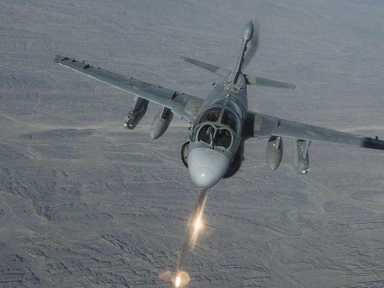 Les US déploient un escadron d'EA-6B Prowler en Turquie