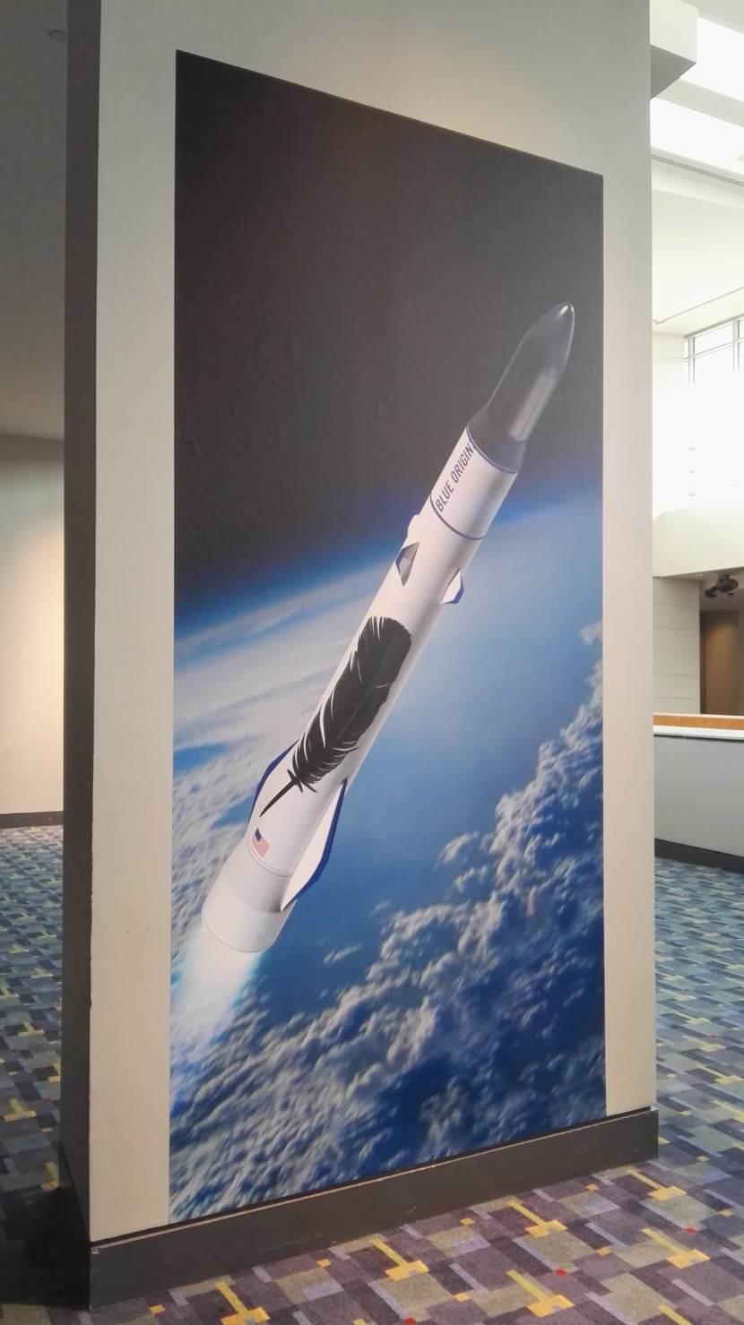 SATELLITE 2017 : Eutelsat sera le premier client du New Glenn de Blue Origin