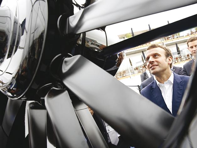 Exclusif : Emmanuel Macron répond aux questions d'Air & Cosmos