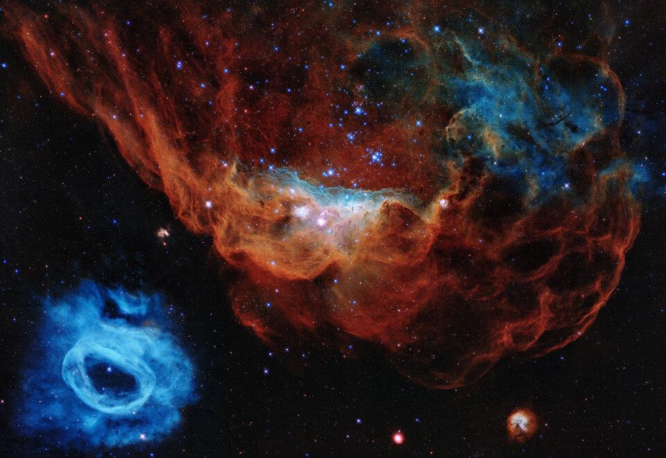 Une nouvelle image du télescope Hubble pour ses 30 ans