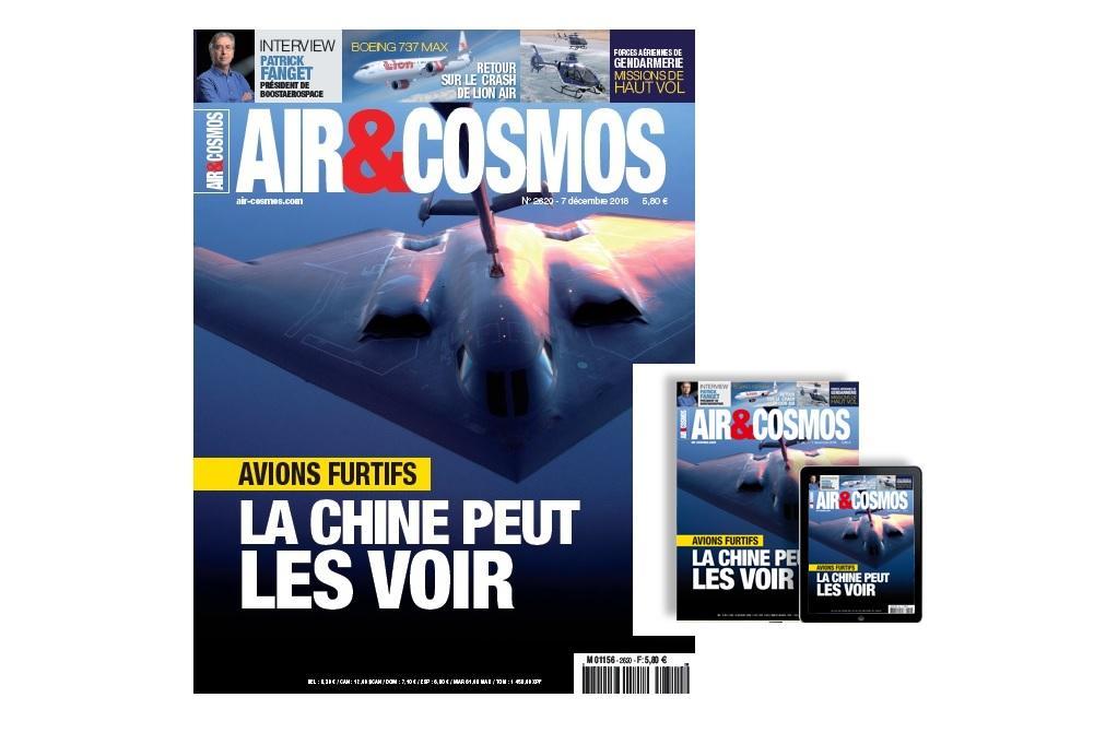 Fin de la furtivité ?, retour sur le crash du Boeing de Lion Air, BoostAeroSpace, Jet Propulsion Laboratory, cette semaine dans Air et Cosmos
