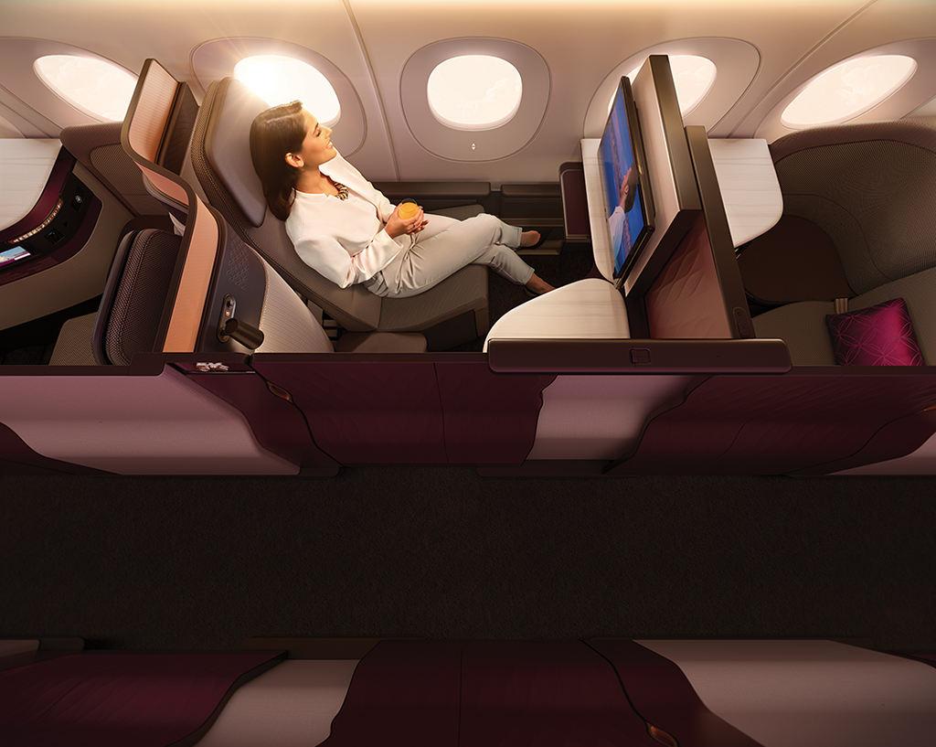 QSuite : Qatar Airways dévoile sa super classe affaires