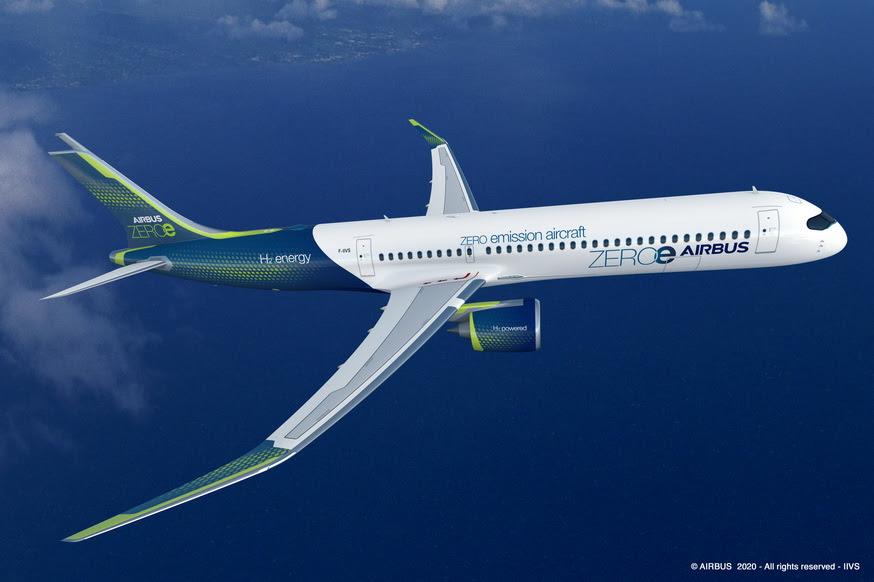 Avion décarboné : Airbus dévoile trois concepts