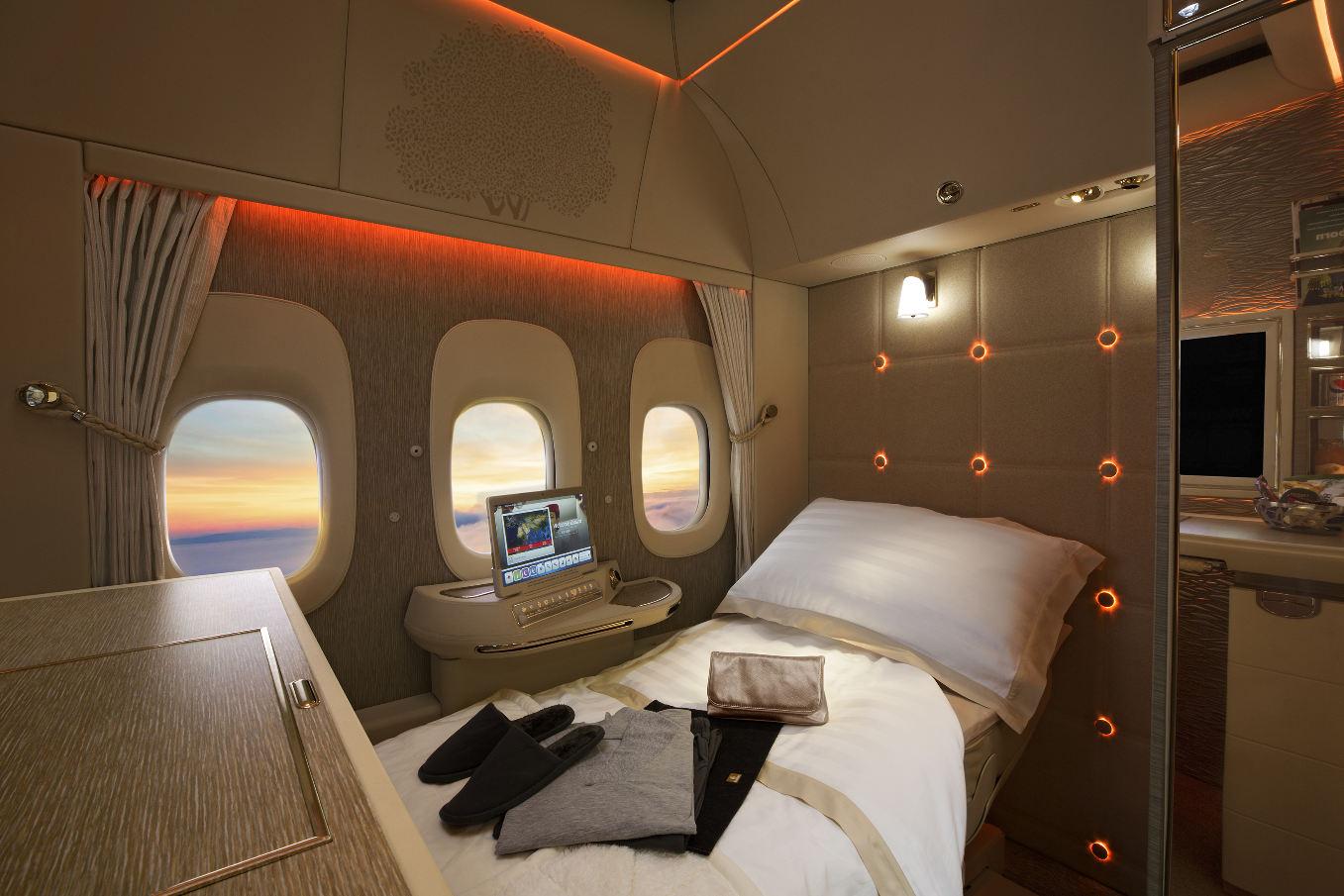 Dubai Airshow 2017 : Emirates dévoile ses nouvelles cabines pour ses Boeing 777