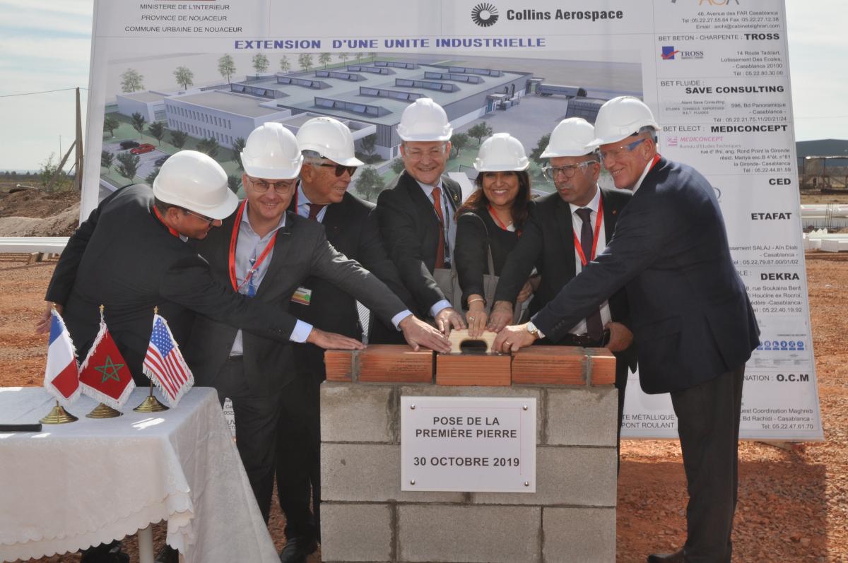 Collins Aerospace s'agrandit au Maroc