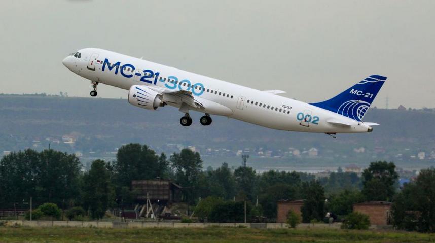 Irkut livre un fuselage de MC-21-300 pour des essais de fatigue