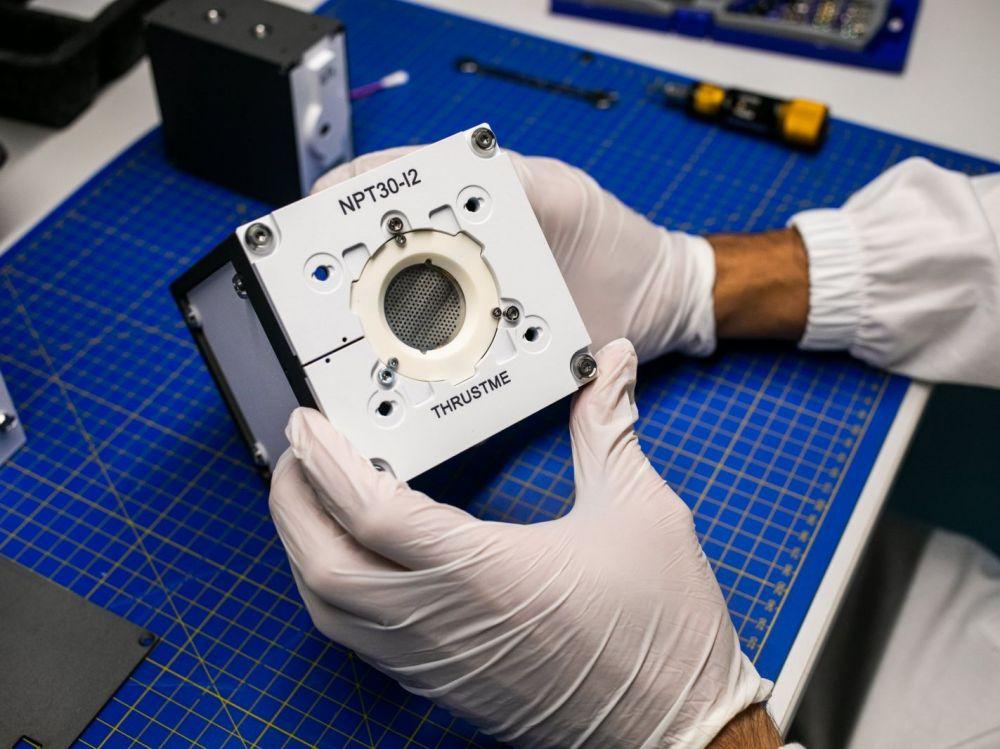 Le premier satellite à iode au monde