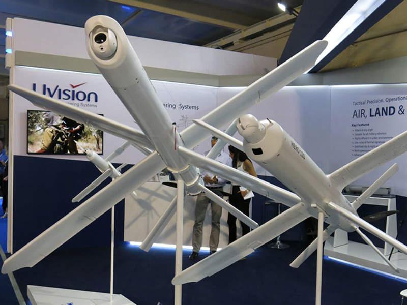 Drones suicides pour hélicoptères