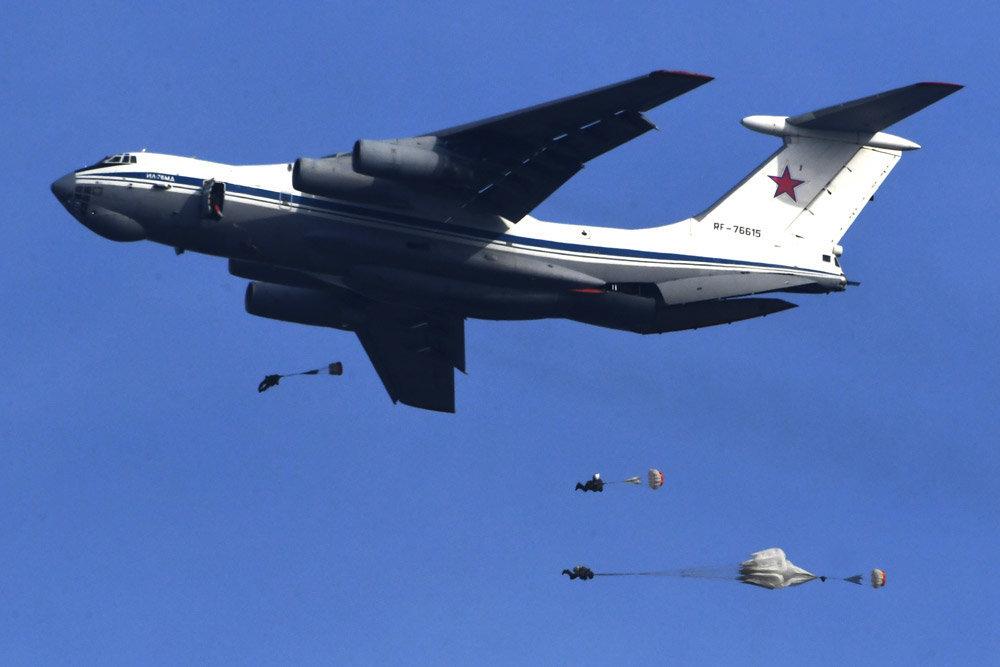 Le concept russe de drone-parachute pour la logistique