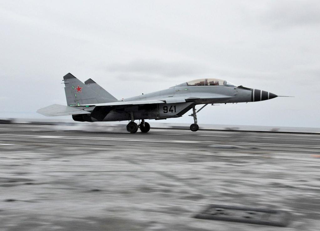 Un MiG 29 russe s'abîme en Méditerranée