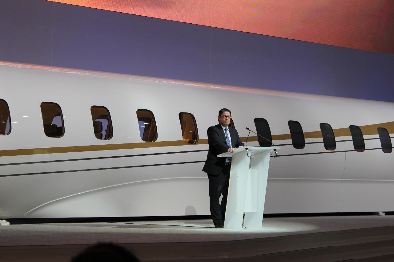 EBACE 2014: Bombardier avance sur les Global 7000 et 8000