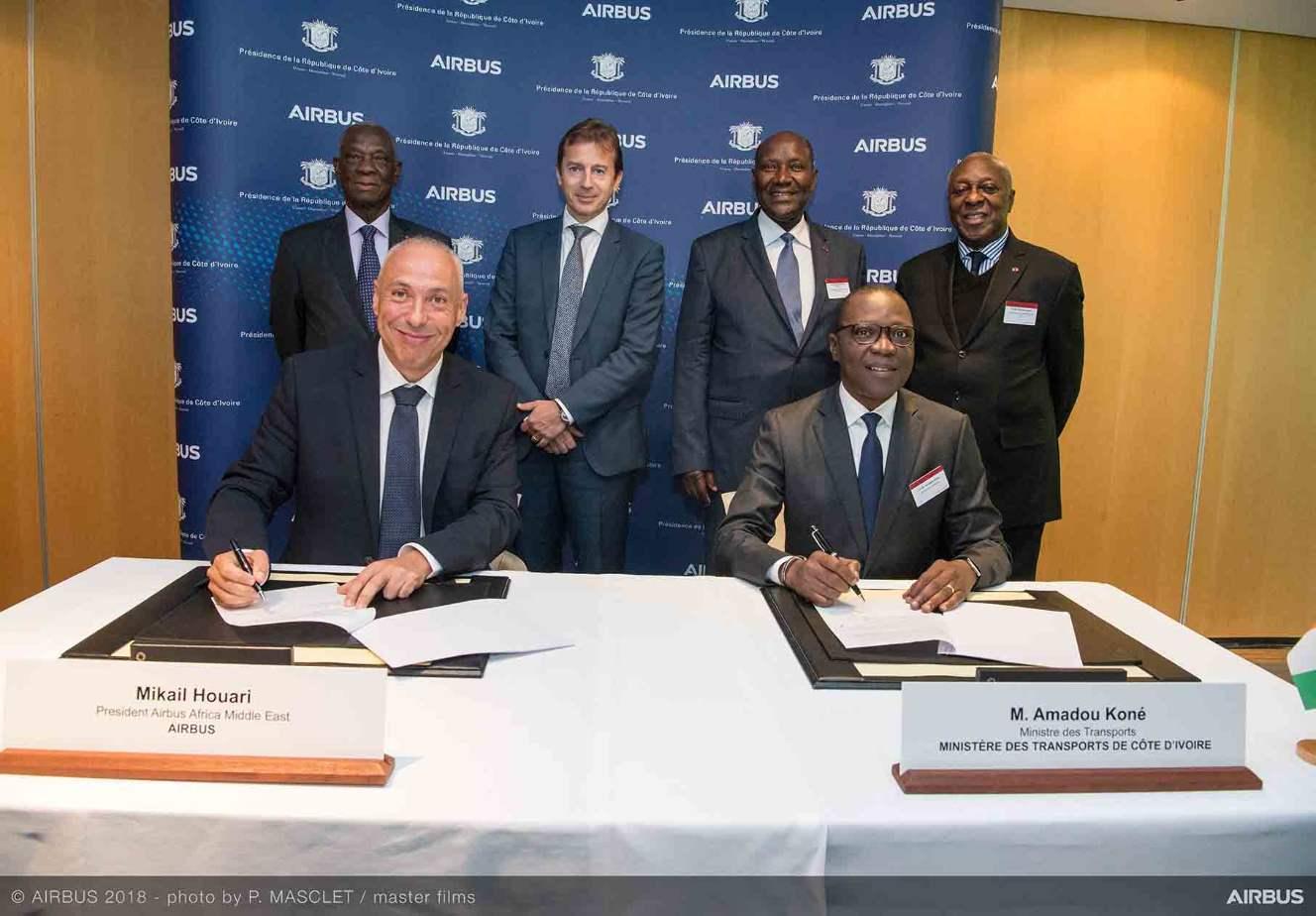 Airbus mise sur la Côte d'Ivoire