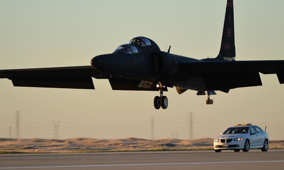 Un TU-2 s'écrase en Californie
