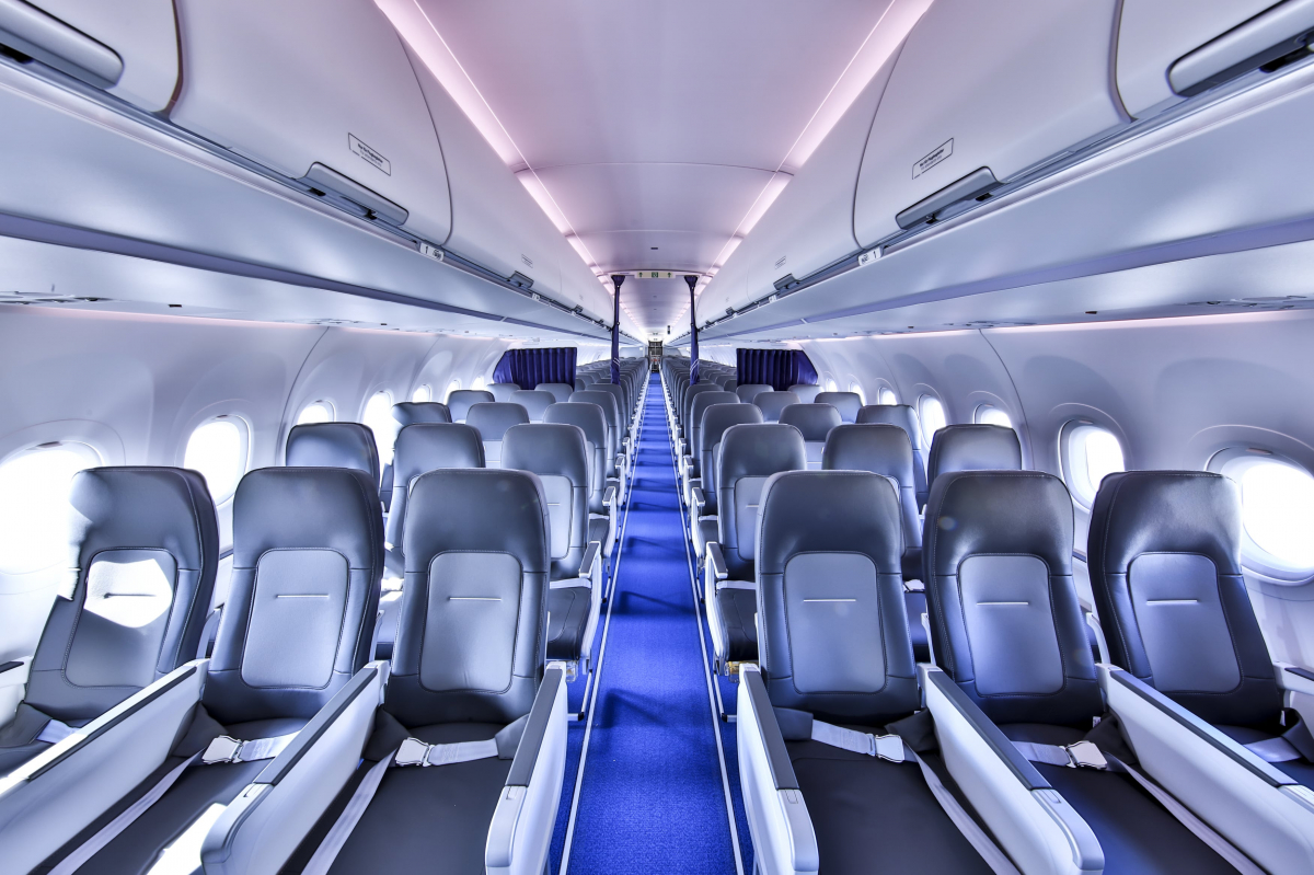 Lufthansa, première compagnie à introduire la nouvelle cabine Airspace d'Airbus pour monocouloir
