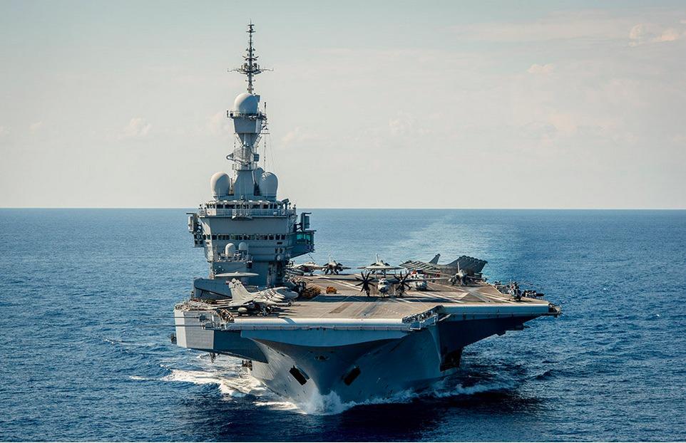 Chammal: Le Charles de Gaulle entre dans l'opération