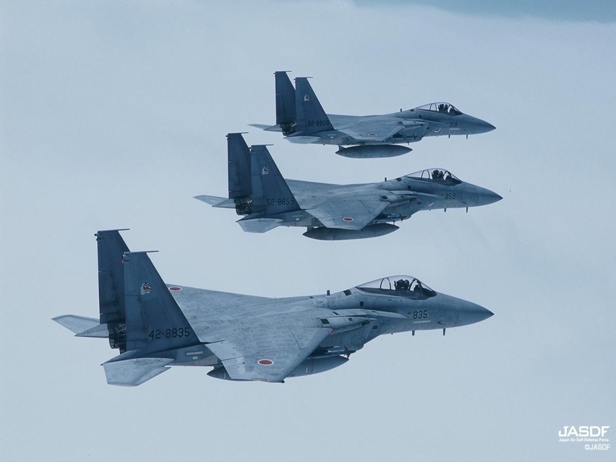Tensions accrues dans l'espace aérien nippon