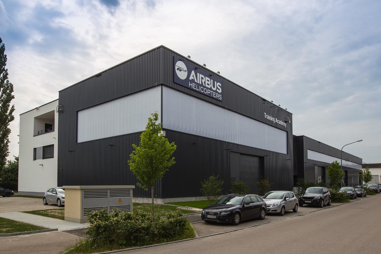 Nouvelle académie de formation Airbus Helicopters à Donauwörth