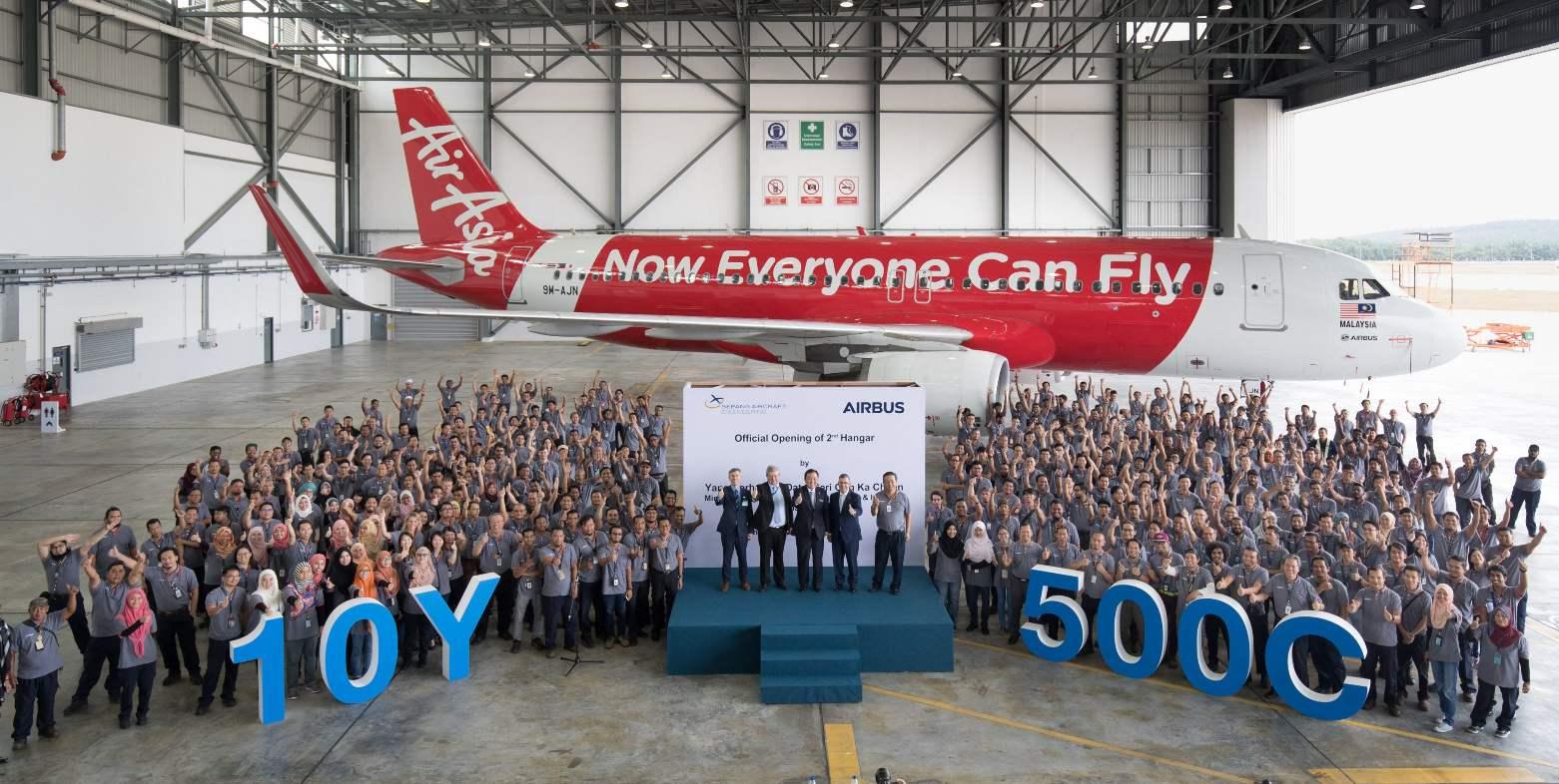 Sepang Aircraft Engineering opens second hangar